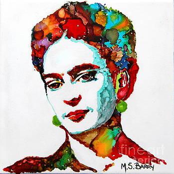 Frida Kahlo by Maria Barry