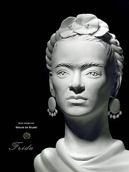 Frida Kahlo by Nijel Binns