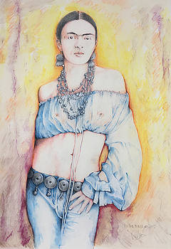 Frida Kahlo by Victor Minca