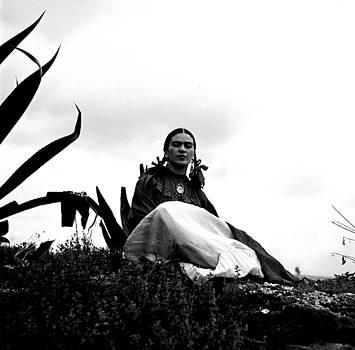 Frida Kahlo with Agave 1937 by Peter Gumaer Ogden
