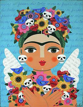 Frida Kaho Mother Earth Angel by LuLu Mypinkturtle