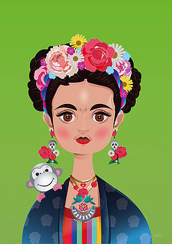 Frida Khalo by Isabel Salvador