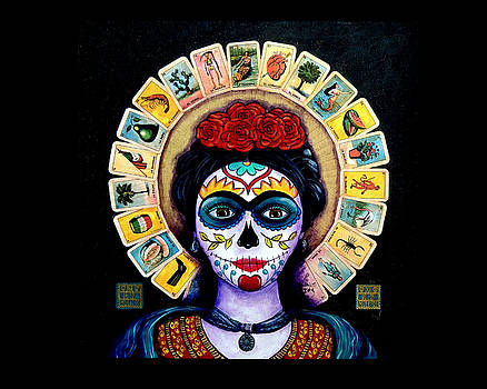 Frida Loteria by Candy Mayer