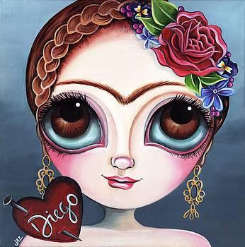 Frida's Broken Heart by Jaz Higgins