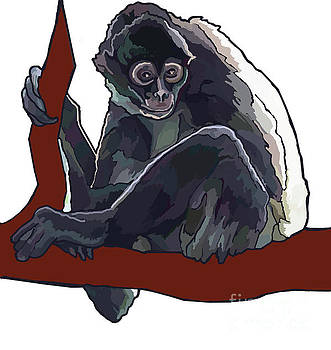Frida's Monkey by Jamie Downs