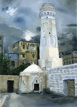 Friday Mosque In Djibla by Lelia Sorokina