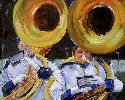 Friday Night Brass by Mary Beth Harrison
