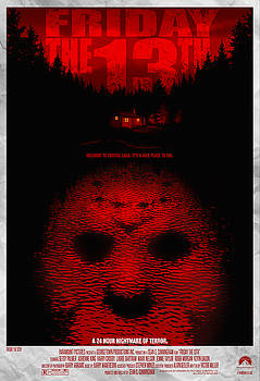Friday the 13th Alternative Poster by Christopher Ables