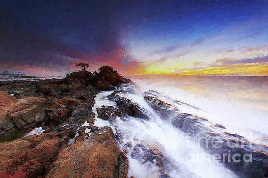 MS  Fineart Creations - Sunset Sea