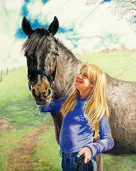 Friends by Jill Iversen