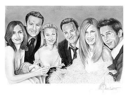 Friends cast by Murphy Elliott