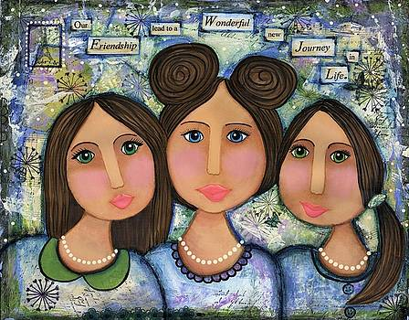 Friendship by Clover Moon Designs Peggy Sowers-Heckman