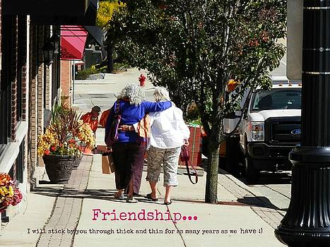 Friendship by Deborah Kunesh