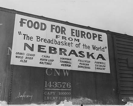 Chicago and North Western Historical Society - Friendship Train - Food From Breadbasket of the World