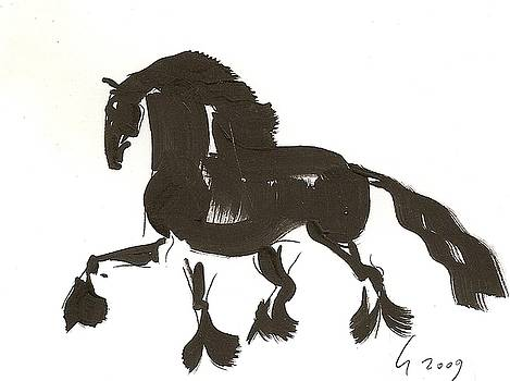 Friesian No. 1 by Liz Pizzo