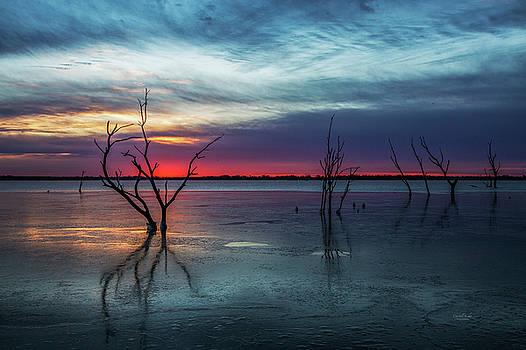 Frigid Sunrise by Crystal Socha