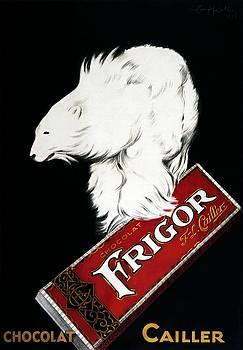Frigor Chocolat Cailler poster  1929 by Vintage Printery