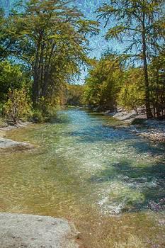 Frio River, Texas by Fritz Ozuna