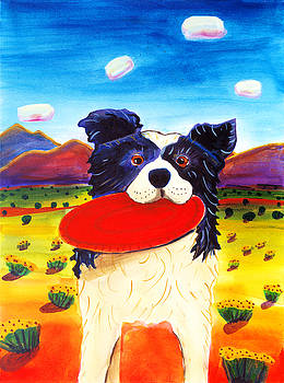 Harriet Peck Taylor - Frisbee Dog