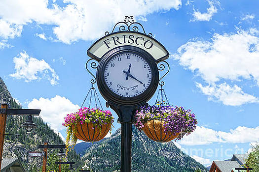 Frisco Colorado Clock by Catherine Sherman
