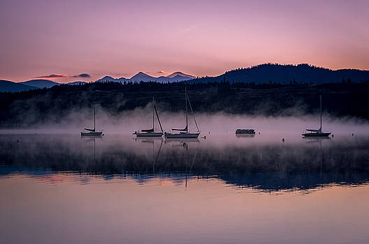 Frisco Marina Early Morning by Michael J Bauer
