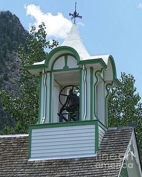 Frisco Schoolhouse Bell Tower, Colorado by Catherine Sherman