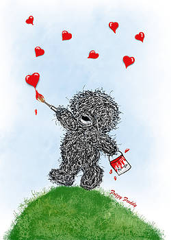 Sannel Larson - Frizzy Freddy- Painting Hearts Just for You