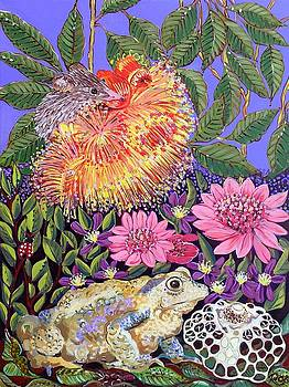 Frog and mouse by Renee Kilburn