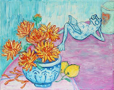 Frog Chrysanthemum Tea by Xueling Zou