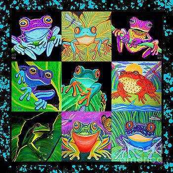 Nick Gustafson - Frog Collage