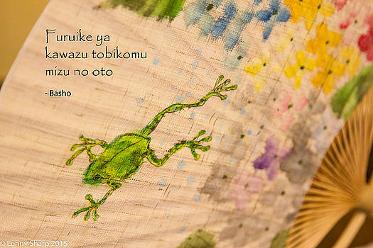 Leonard Sharp - Frog - Haiku