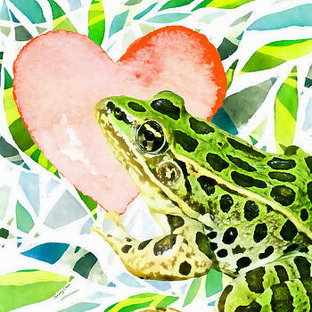 Frog In Love by Stacey Chiew