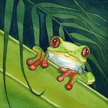 Frog Peek by Lyse Anthony