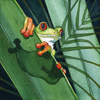 Frog Ready to Leap by Lyse Anthony