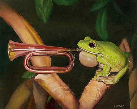 Froggy Woggy Bugle Boy by Loretta McNair