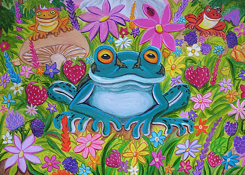 Nick Gustafson - Frogs and flowers