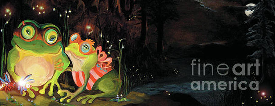 Frogs at Silver Lake by Donna Hall