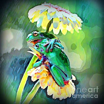Frogs by Scott Ashgate for LIVIS ART