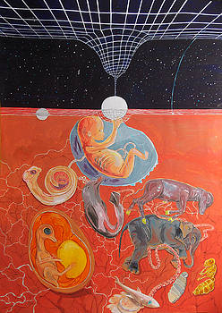 From gestation to the evolution of abstract thinking by Lazaro Hurtado
