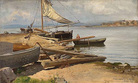 From Kristiania Fiord by Hans Fredrik