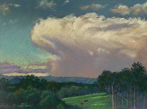From Lansdowne Evening Thunderhead by Louise Green