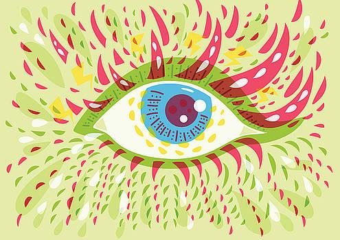 From Looking Psychedelic Eye by Boriana Giormova