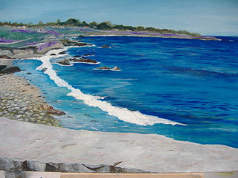 Ilona MONTEL - From Lovers Point In Monterey