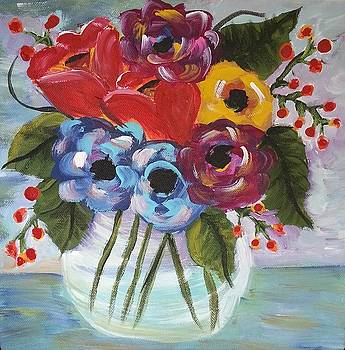 From My Garden-Impressionist Flowers by Clover Moon Designs Peggy Sowers-Heckman