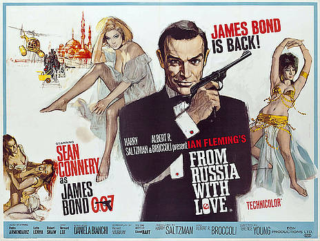 Daniel Hagerman - FROM RUSSIA WITH LOVE JAMES BOND LOBBY POSTER 1963