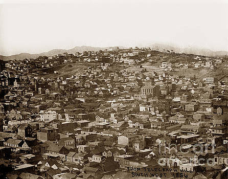 California Views Mr Pat Hathaway Archives - From Telegraph Hill South West San Francisco 1856
