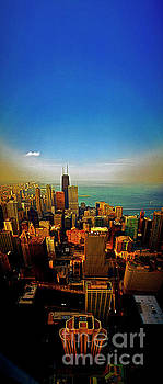 From the Aon building chicago skyline looking north 312 02 2027 by Tom Jelen