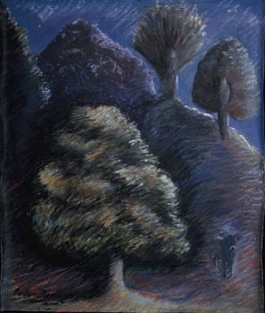 From the Bones of Ymir Creation Myth by Barbara Nesin