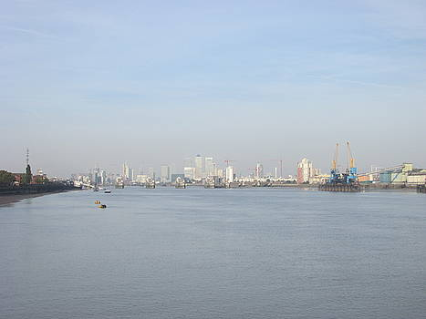 From The Ferry Boat - John Newman - Woolwich Arsenal - London by Mudiama Kammoh