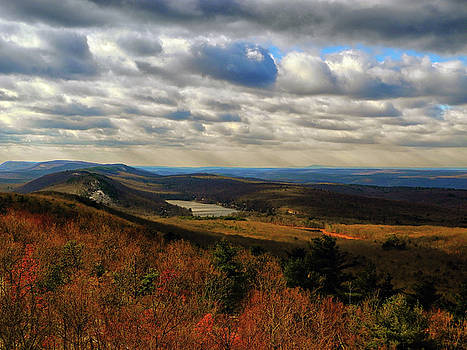 From the NJ AT Looking South Along the AT by Raymond Salani III
